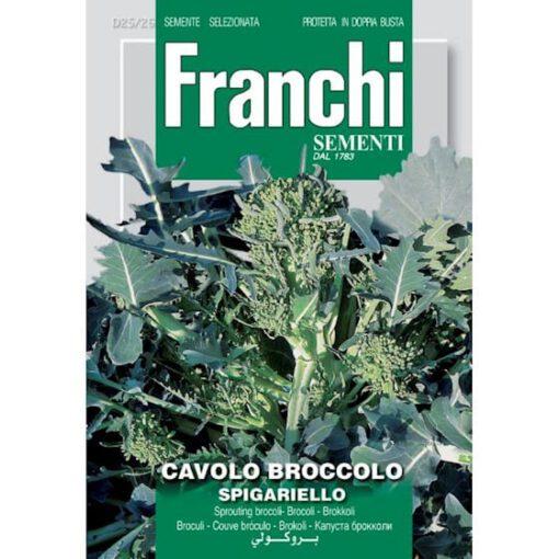 Brocolli bloeiend cavolo brocoolo spigariello