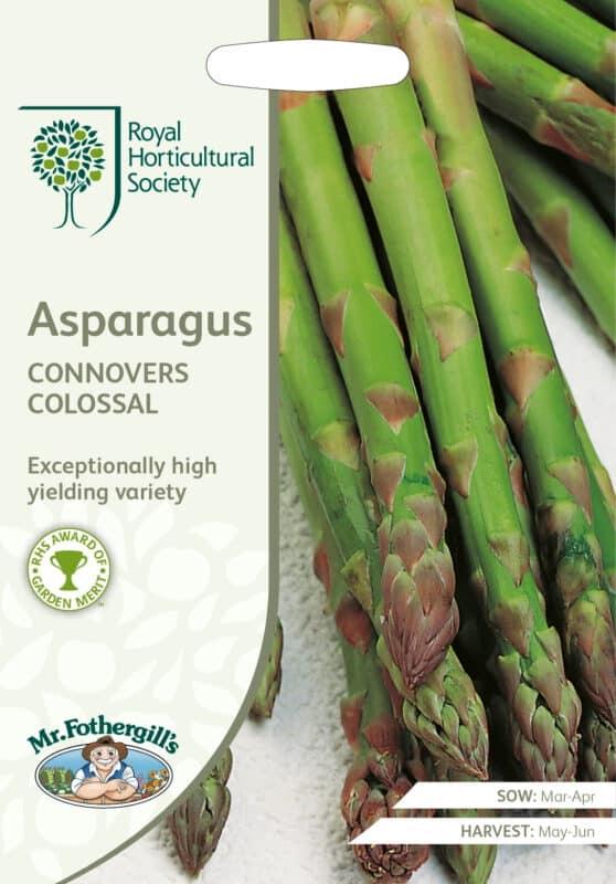 Asperges zaden